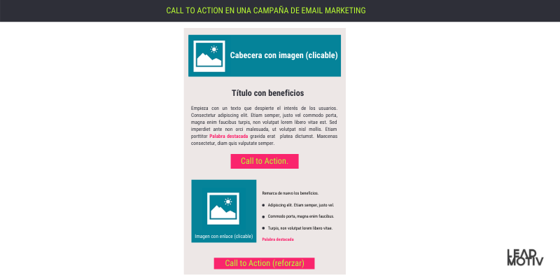 call to action en email marketing
