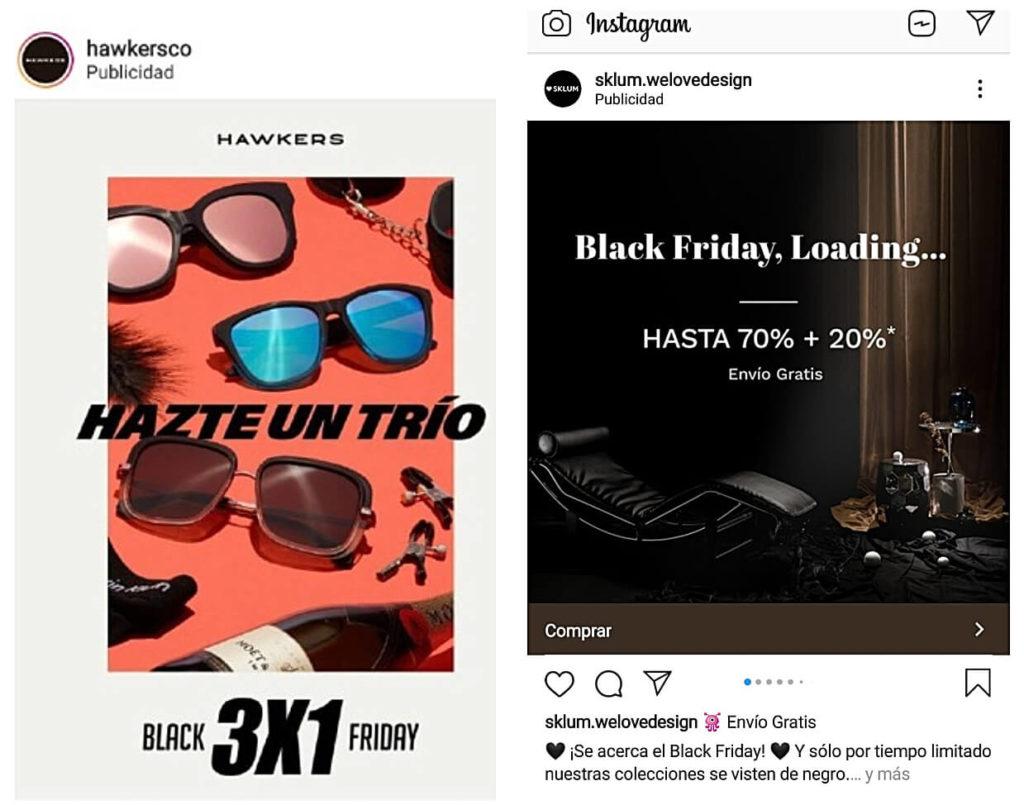 ejemplos Instagram Ads