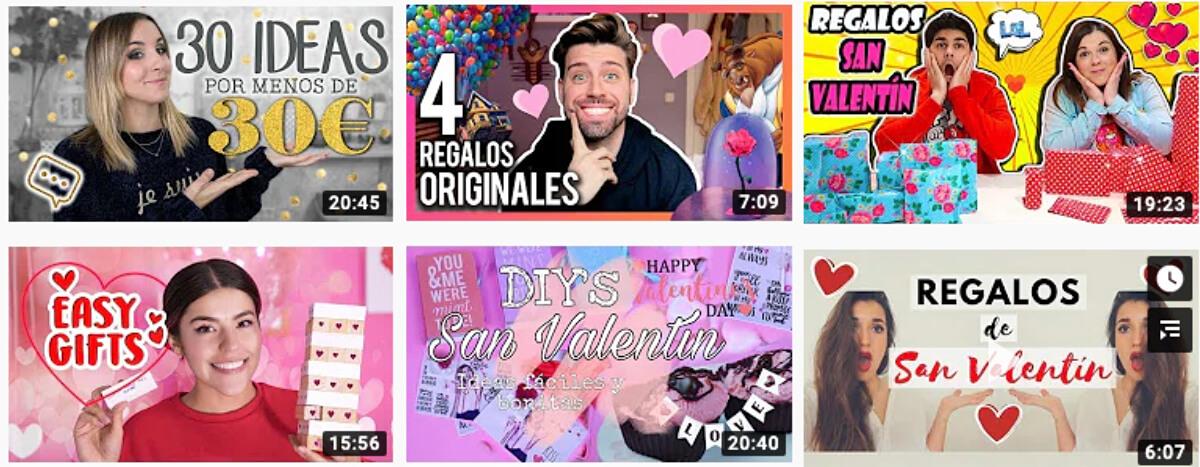 Youtube y el Día de los Enamorados