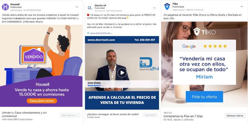 marketing inmobiliario en facebook ads