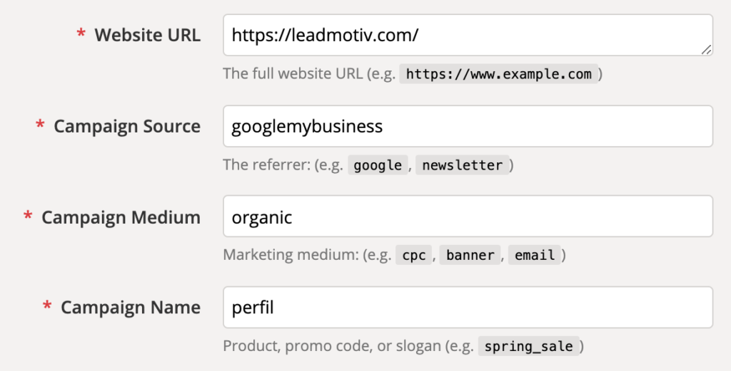 utm google campaign url builder