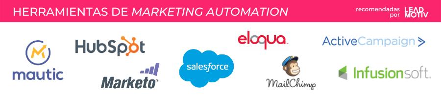 Herramientas marketing automation