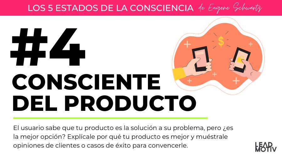 estado 4 - consciente producto